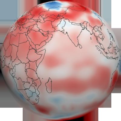 September 2011 Temperature Anomalies Graphic