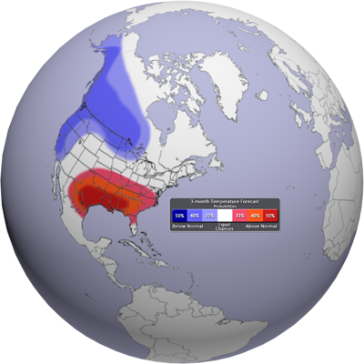 Temperature Outlook Graphic
