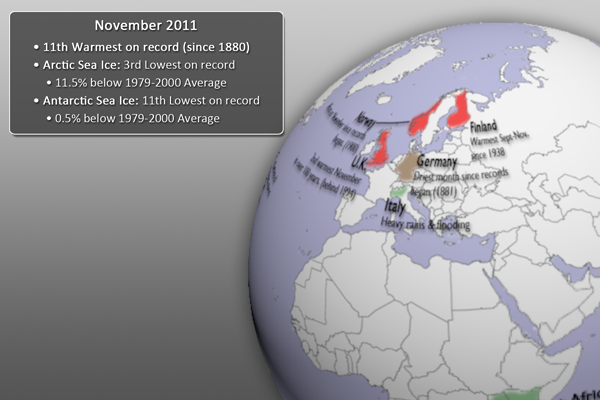 November 2011 Event Highlights Graphic