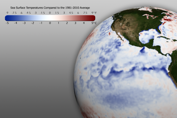 November 2011 SST Anomaly Graphic
