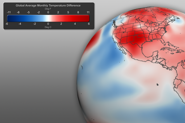 Temperature Anomalies Graphic