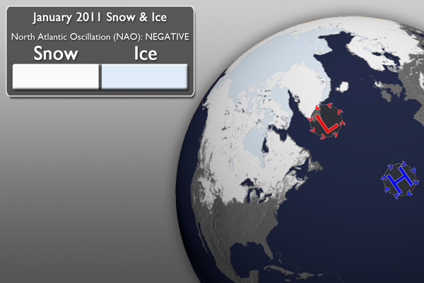 January 2011 Snow Graphic