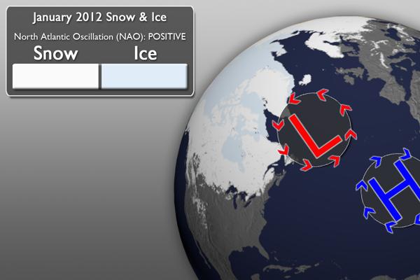 January 2012 Snow Graphic