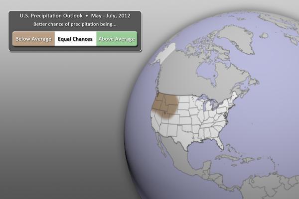 U.S. Precipitation Outlook Graphic