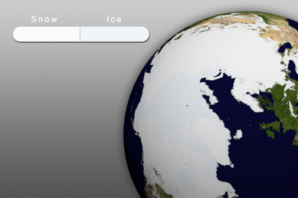 March 2012 Snow and Ice Graphic