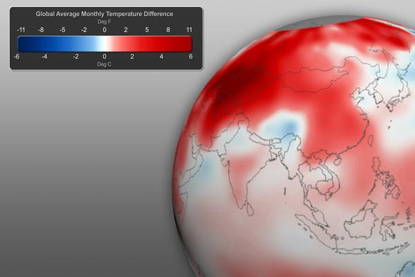 April 2012 Global Temperature Anomalies