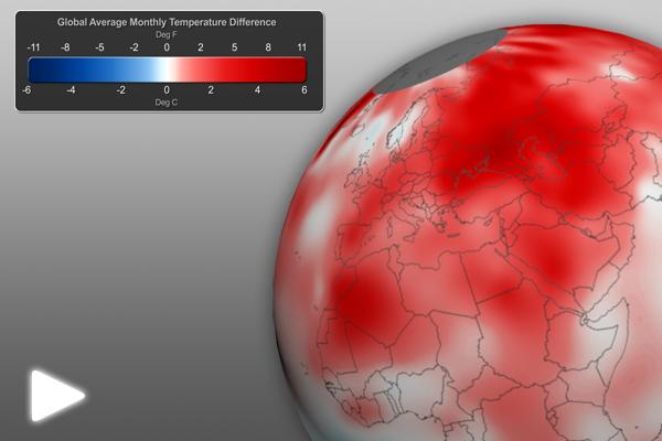 May 2012 Global Temperature Anomalies