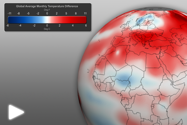 June 2012 Global Temperature Anomalies