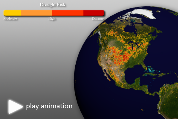 Global Drought Risk (NDVI)