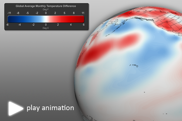 August 2012 Global Temperature Anomalies