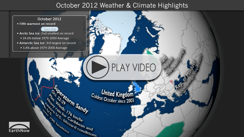 October 2012 Climate Digest Video