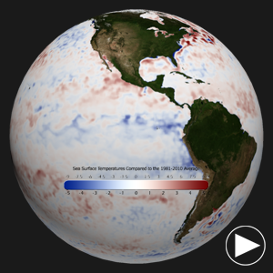 December 2012 Sea Surface Anomalies