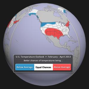 U.S. Temperature Outlook