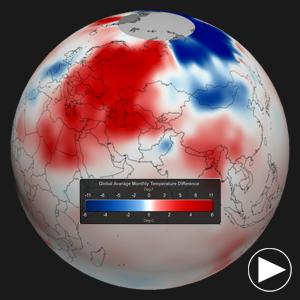 2013 Temperature Anomalies