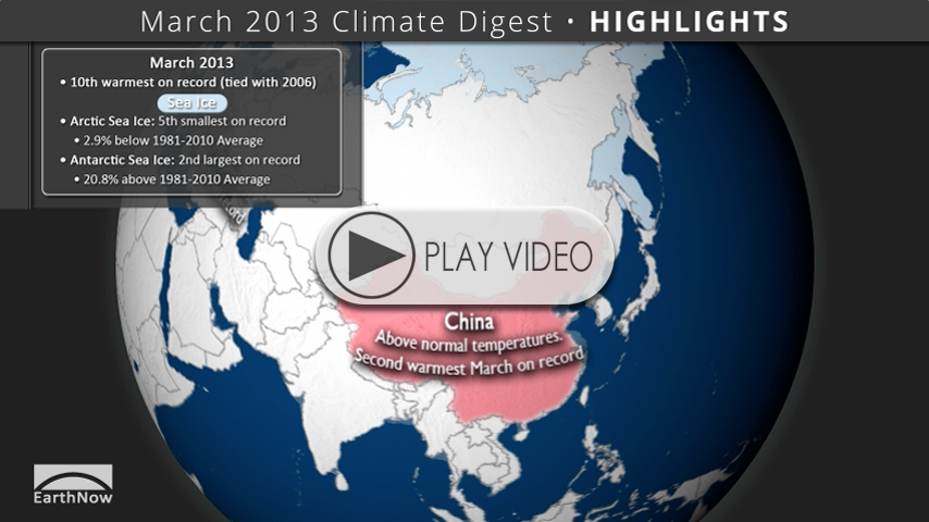 March 2013 Climate Digest