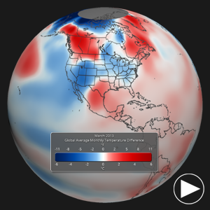 March 2013 Temperature Differences