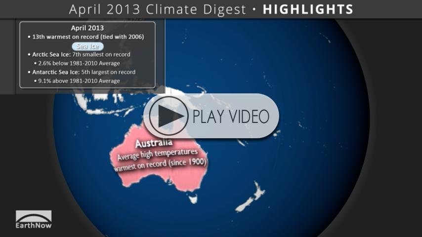 April 2013 Climate Digest