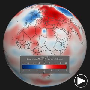 May 2013 Temperature Anomalies