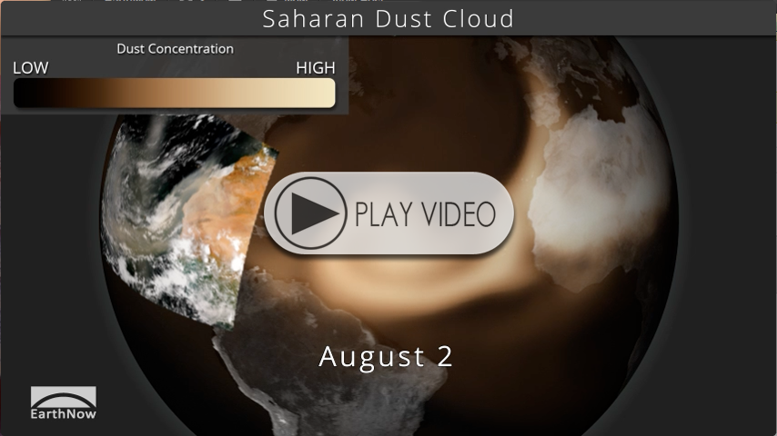 Saharan Dust Cloud