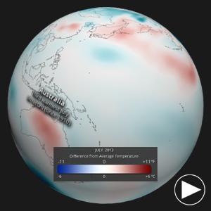 July 2013 Temperature Anomalies
