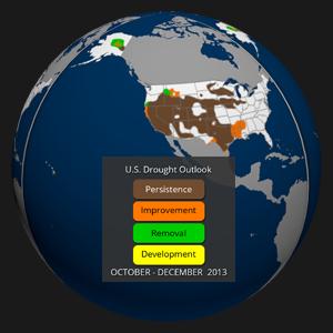 Drought Outlook (Oct.-Dec. 2013)