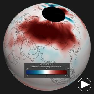 November 2013 Global Temperature Anomalies