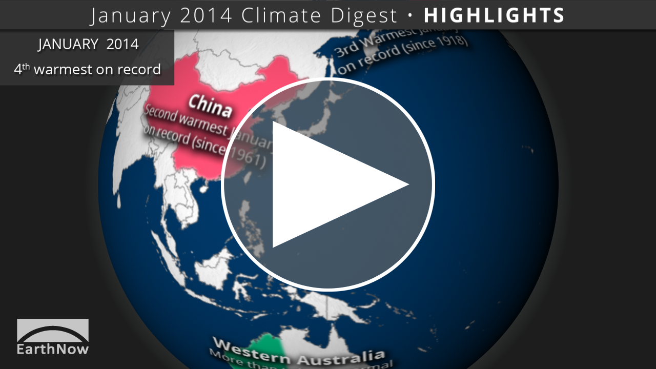 January 2014 Climate Digest
