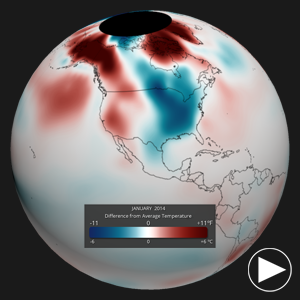 January 2014 Temperature Anomalies